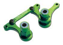 Traxxas Steering bellcranks, drag link (green-anodized 6061-T6 aluminum)/ 5x8mm ball bearings (4)/ hardware (assembled)