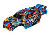 Traxxas Body, Rustler®, Rock n' Roll (painted, decals applied)