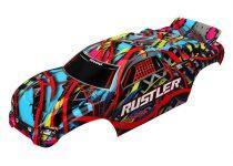 Traxxas Body, Rustler®, Hawaiian graphics (painted, decals applied)