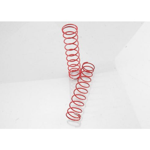 Traxxas Springs, rear (red) (2.9 rate) (2)