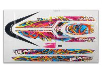 Traxxas Blast decal set (swirl pattern) (waterproof)