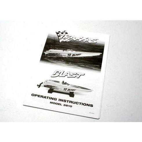 Traxxas Blast operating manual