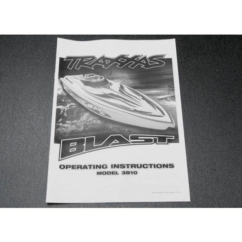 Traxxas Owner's manual, Blast