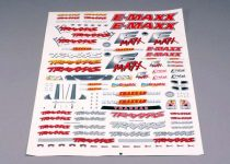 Traxxas Decal sheet, E-Maxx®