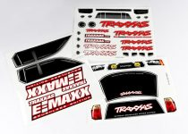 Traxxas  Decal sheets, E-Maxx® Brushless (model 3908)