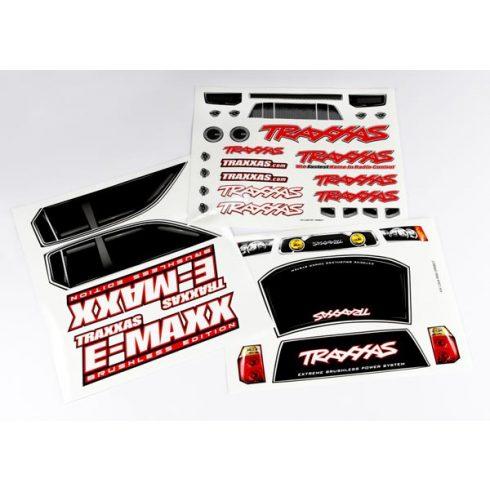 Traxxas  Decal sheets, E-Maxx® Brushless (model 3908)
