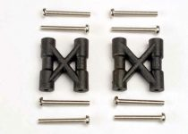 Traxxas Bulkhead cross braces (2)/ 3x25mm CS screws (8)