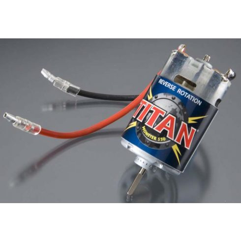 Motor, Titan 550, reverse (21-turns/ 14 volts)