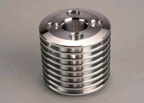 Traxxas  Cooling head, TRX® .15 engine (machined aluminum) (Stock Nitro Sport head)