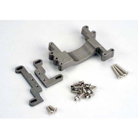 Engine mount, 2 piece, aluminum