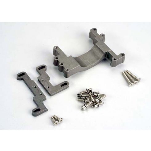 Engine mount, 2 piece, aluminum