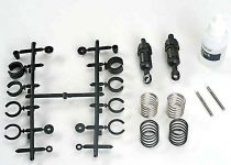 Traxxas  Ultra Shocks (black) (short) (complete w/ spring preload spacers & springs) (2)