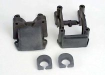 Traxxas Housing, diff & cover (f)/ shock tower (f)