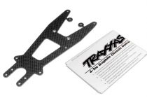 Traxxas Upper chassis plate, graphite