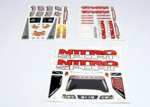 Traxxas Decal sheet, Nitro sport