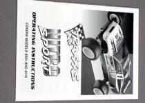 Traxxas  Owner's Manual, Nitro Sport