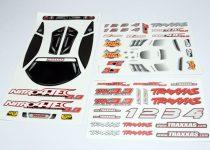 Traxxas Decal sheet, Nitro 4-Tec® 3.3
