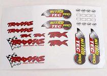 Traxxas  Decal sheet, Nitro 4-Tec® Pro