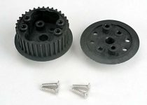Traxxas  Differential (34-groove)/ flanged side-cover & screws