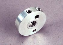 Traxxas drive hub, clutch/ pawl & pin (installed)/spring/ set screws (2)