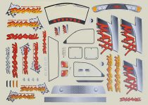 Traxxas Decal sheet, T-Maxx® (use with 4911X body)