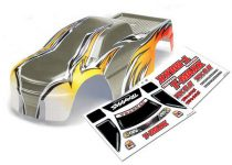Traxxas Body, T-Maxx® (USHRA Special Edition) (Silver)/decal sheet (2)