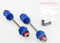 Traxxas Driveshafts, center, E-Maxx® (steel constant-velocity) front (1)/ rear (1) (assembled with inner and outer dust boots, for E-Maxx®)