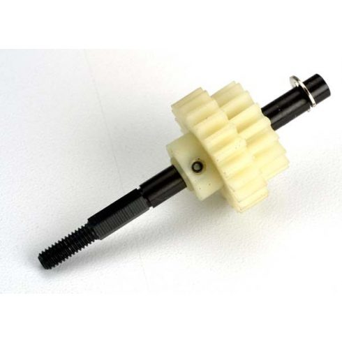 Traxxas Drive gear, two-speed (17/22-teeth)/ slipper shaft