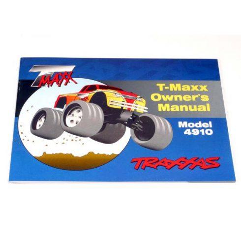 Traxxas Owner's Manual, T-Maxx®