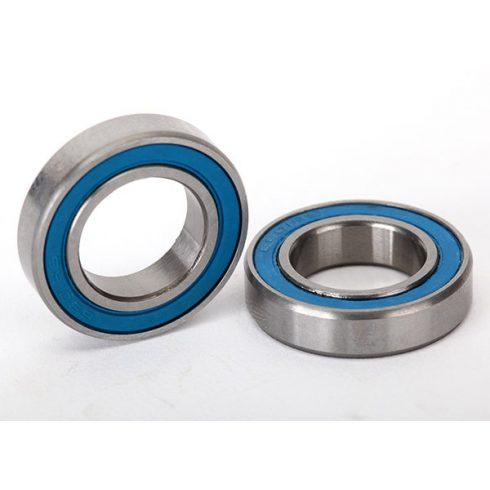 Traxxas Ball bearings, blue rubber sealed (12x21x5mm) (2)