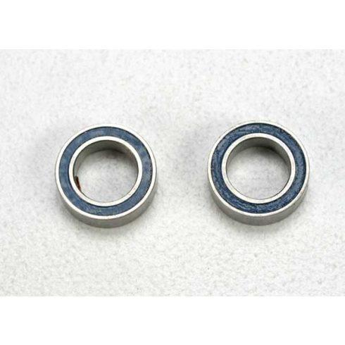 Traxxas Ball bearings, blue rubber sealed (5x8x2.5mm) (2)