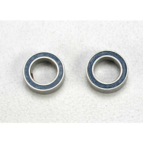 Traxxas Ball bearings, blue rubber sealed (5x8x2.5mm) (2)