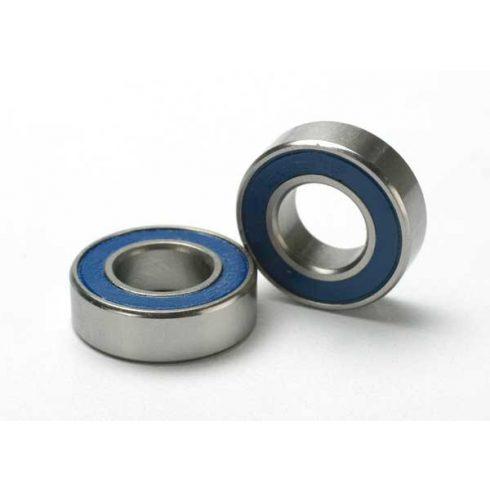 Traxxas Ball bearings, blue rubber sealed (8x16x5mm) (2)