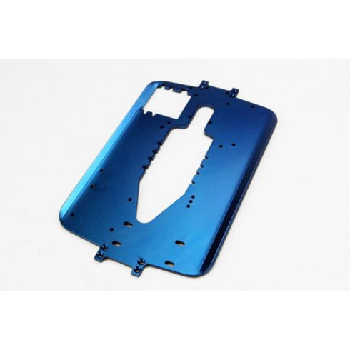 Traxxas  Chassis, 6061-T6 aluminum (4.0mm) (blue) (standard replacement for all Maxx® series)