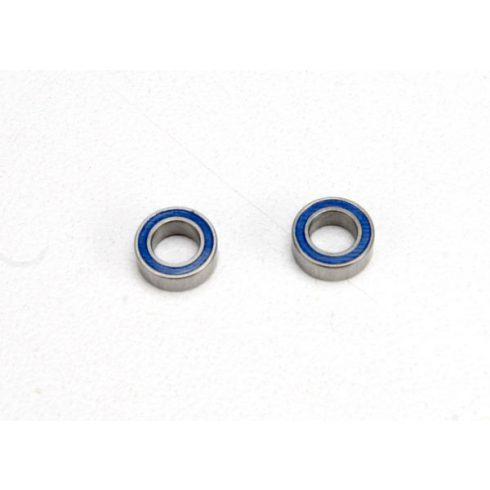 Traxxas  Ball bearings, blue rubber sealed (4x7x2.5mm) (2)