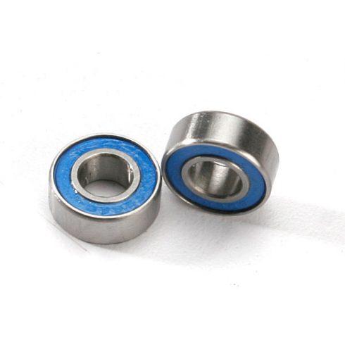 Traxxas Ball bearings, blue rubber sealed (6x13x5mm) (2)