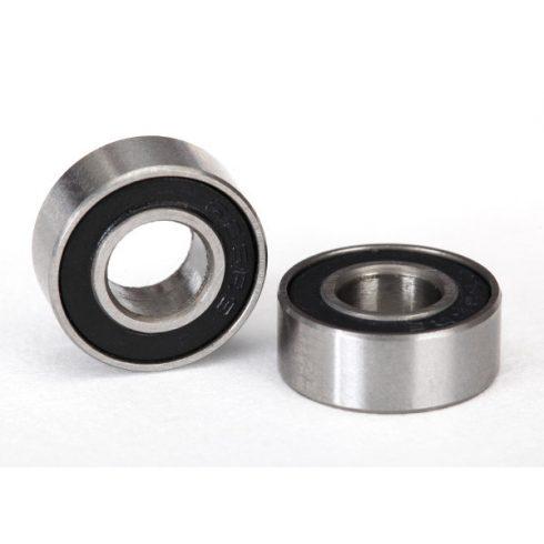 Traxxas Ball bearings, black rubber sealed (6x13x5mm) (2)