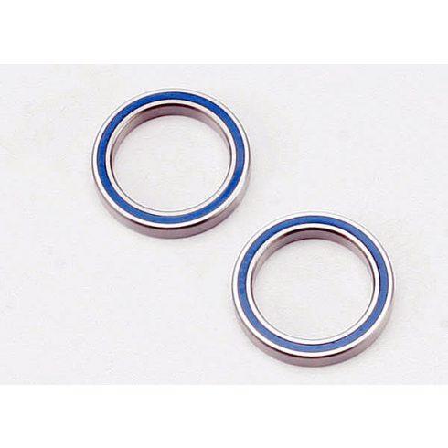 Traxxas Ball bearings, blue rubber sealed (20x27x4mm) (2)