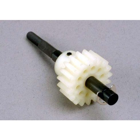 Traxxas Drive gear, single-speed (19-tooth)/ slipper shaft