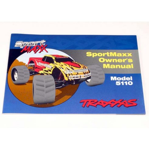Traxxas Owner's Manual, SportMaxx®