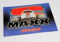 Traxxas Owner's Manual, S-Maxx®