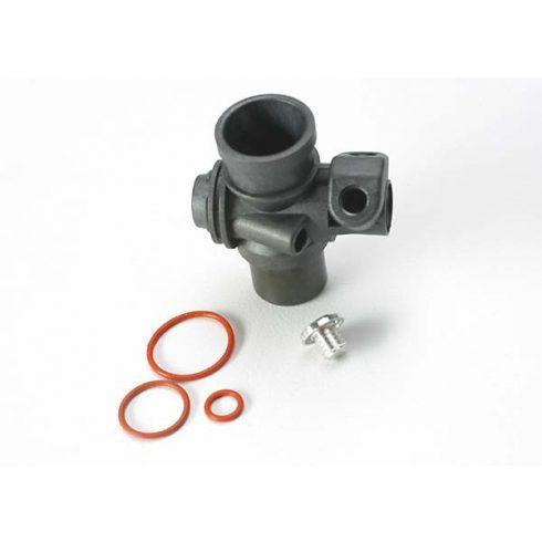 Traxxas Carburetor body/ fuel inlet plug/ 5x.9mm O-ring (1-each) (TRX® 2.5, 2.5R)