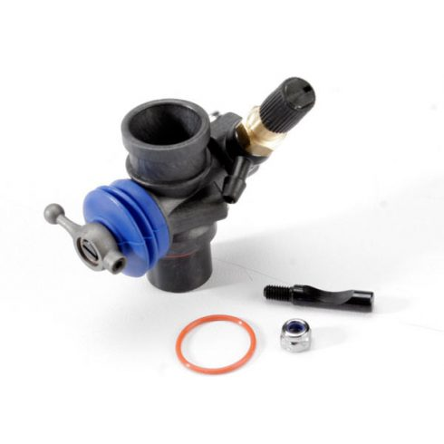 Traxxas Carburetor, complete (minus air filter assy) (TRX® 2.5, 2.5R composite slide)