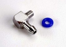 Traxxas Fitting, inlet for pipe pressure (90-degree) (1)