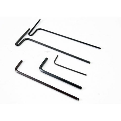 Traxxas Hex wrenches; 1.5mm, 2mm, 2.5mm, 3mm, 2.5mm ball