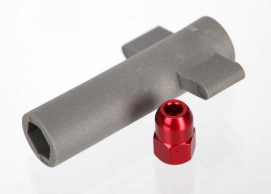 Traxxas  Tuned pipe, composite (Jato) assembled (TRX® 2.5)