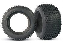 "Traxxas Tires, Alias® 2.8"" (2)/ foam inserts (2)"