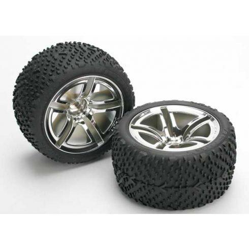 Tires & wheels, assembled, glued