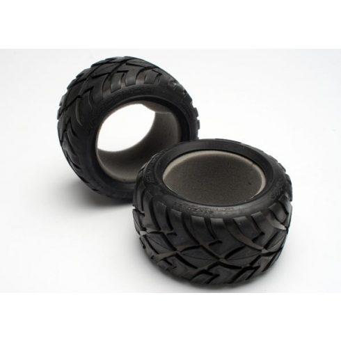 "Traxxas Tires, Anaconda® 2.8"" (2)/ foam inserts (2)"