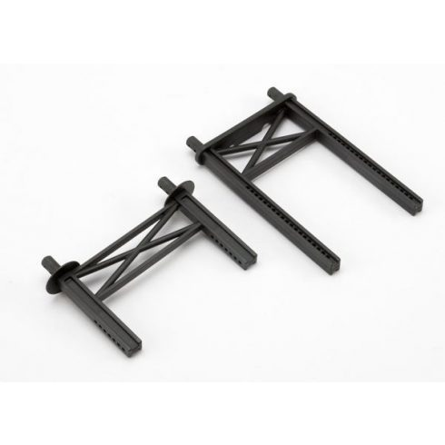 Body mount posts, front & rear